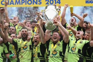 Saints won their first Premiership title in 2014