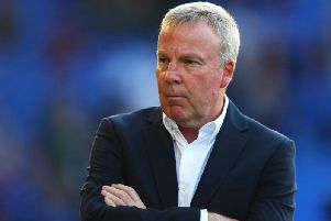 Kenny Jackett took charge of Portsmouth in 2017