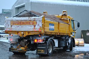 Northamptonshire's gritting fleet was not out on the night of a cold snap last week.