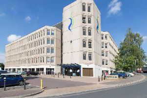 The top four floors of Riverside Building have stood empty since late 2017.
