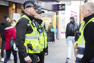 Northamptonshire Police say they have made 150 arrests in Northampton town centre in two months as part of Operation Lily.