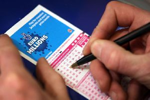The winning ticket, worth 1m, was purchased in Northampton
