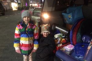 Martha Culley has made it her mission to help Northampton's homeless people and was out with Earth's Lonely Angels last week.