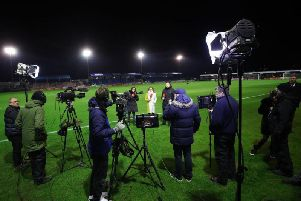 The BT Sport cameras will be in town for the Cobblers versus Derby County FA Cup fourth round tie on January 24