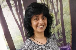Taz Shah says her role is to be the link between medical and non-medical services within the NHS.