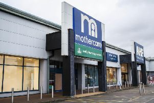 The Mothercare store will be plunged into darkness after shutting its doors for the final time. Pictures by Kirsty Edmonds.