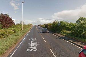 The incident happened near this spot on the A6