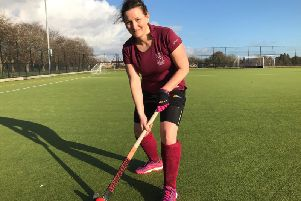 Natalie Carroll from Leamingtonhas been inspired to start her own walking hockey group. Photo supplied.
