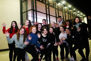 Some of the young people including Madison Foster, chosen to perform in Northern Ireland's answer to FAME