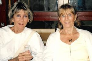Vicky Wellesley (left) took her own life after a terminal cancer diagnosis.