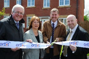 Opening Of Kettering Affordable Housing Scheme border=