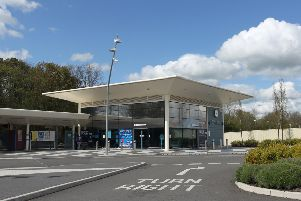 Corby Railway Station