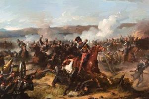 The Charge Of The Light Brigade by Barker Thomas Jones