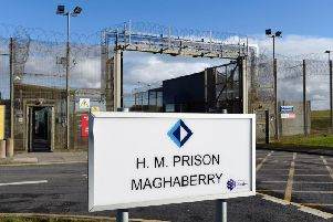 Maghaberry Prison, Co. Antrim.