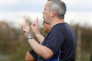 Joint-manager Chris Bradshaw saw his Desborough Town team fight back from 1-0 down to beat Boston Town 3-1