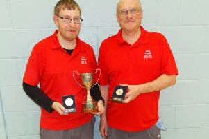 Infinity's county pairs winners Robin Armstrong and Chris Page