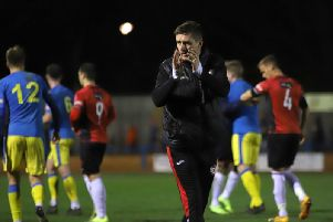 Marcus Law won't be placing any extra pressure on his Kettering Town players ahead of their big top-of-the-table clash at Stourbridge on Saturday
