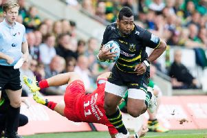 Taqele Naiyaravoro starts for Saints against Newcastle (picture: Kirsty Edmonds)
