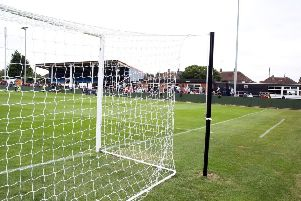 The main stand at Hayden Road is currently out of action.
