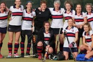 The BHHHC ladies first-team have hit the summit in their league.