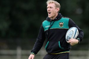 Saints attack coach Sam Vesty