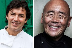 World-renowned chefs Jean-Christophe Novelli and Ken Hom OBE will headline the food festival.