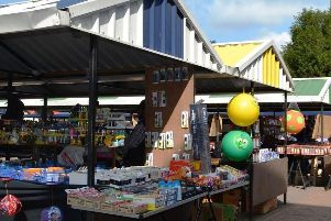 Wellingborough market has now moved from its old location to Orient Way NNL-190703-171426005