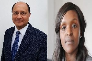 Shailesh Vara and Fiona Onasanya