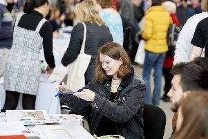 More than 550 jobseekers attended.