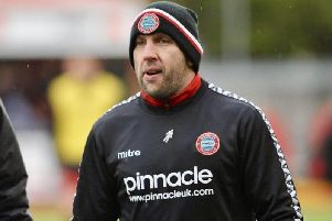 Worthing manager Adam Hinshelwood. Picture by Stephen Goodger.