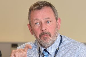 Permanent Secretary of health department Richard Pengelly. 'Picture: Pacemaker