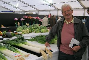 Mr Jim McKay was a keen gardener who loved competing in flower and vegetable shows.
