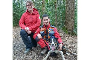 Meet Ted - the newest member of the county's search and rescue team