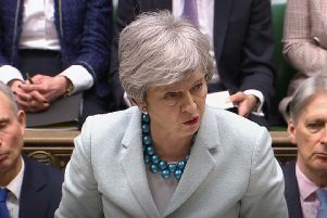 Prime Minister Theresa May's comments angered the DUP