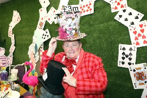 Crazy Hats: Kettering: Wicksteed Park hosts Crazy Hats' Madhatters' Tea Party to celebrate �3million being raised by the charity. 'Sunday, March 24th 2019 NNL-190324-185836009