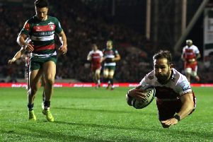 Cobus Reinach scored his 15th try of the season last Friday night