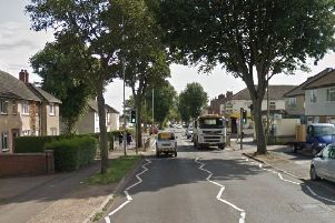 The incident took place in Windmill Avenue, near the junction with Mill Road.