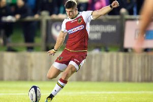 James Grayson started at fly-half for the Wanderers