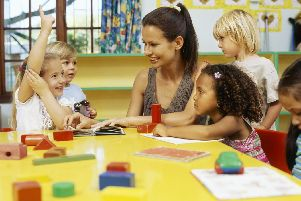 Every childminder and nursery provider in the county has had their funding cut.