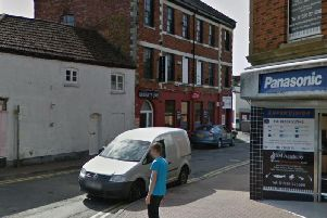 The assault happened outside Brooklyn Bar in Ebenezer Place in Kettering (Picture: Google)