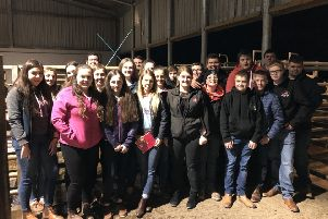 Bleary YFC club members who attended