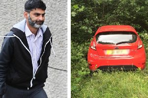 Asad Bashir Malik (left) was jailed for 14 months for his parking scam