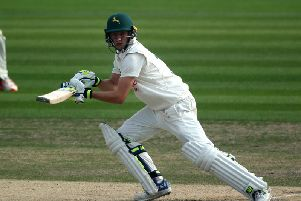 Billy Root scored an unbeaten 126 for Glamorgan against Northants