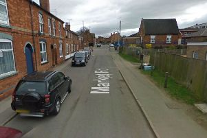 The incident happened in this area in Thrapston. Image copyright Google.