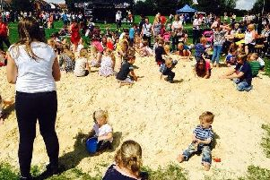 Several National Play Days have been held at West Glebe Park
