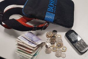 This haul was recovered by the Kettering Proactive Police team from a county lines dealer in Kettering on April 9 NNL-190414-091541005
