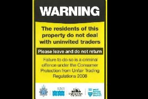 East Sussex Trading Standards issued a warning following a spate of cold callers offering house improvements or gardening services. SUS-190418-150427001