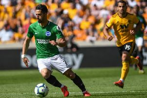 Beram Kayal in action at Wolves on Saturday. Picture by PW Sporting Photography