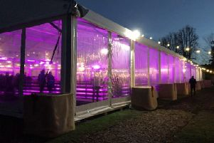 Ice rink opens in Chichester's Priory Park