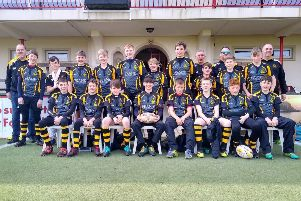 The Tring under-13s side which travelled to the Channel Islands recently.